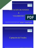 Captación de fondos y celebrities