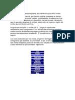 El Ultrasonido o Eco Sonogram A