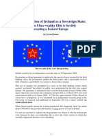 The Dissolution of Ireland as a Sovereign State