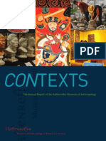 2012 Contexts--Annual Report of the Haffenreffer Museum of Anthropology