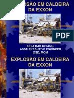 492 Explosao Caldeira Da Exxon Singapura