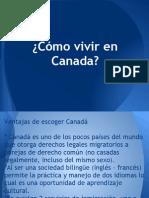 Vivir en Canada