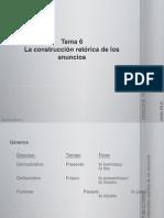 Tema 6. La Construcción RetóRica de Los Anuncios
