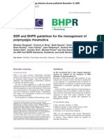 Management of Polymyalgia Rheumatic A