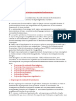 Les Principes Comp Tables Fondamentaux