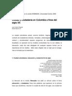 Ciudad y ciudadanía en Colombia, Juan Carlos Pérgolis