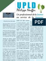 Les engagements de Philippe Neuffer