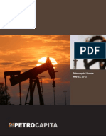 Petrocapita May 2012 - Risk, Return and Value in Western Canada