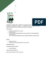 Interruptor automático K60