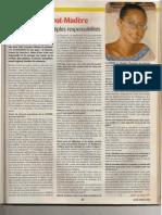 Article sur Joelle PREVOT-MADERE