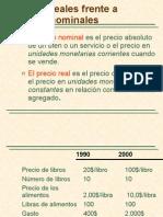 Precios Nominales y Precios Reales