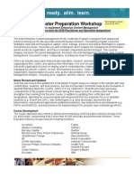 AIIM Virtual ECM Master Preparation Workshop