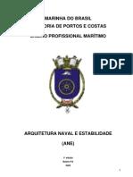 Arquitetura Naval e Estabilidade (ANE)