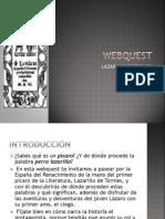 Webquest Lazarillo de Tormes