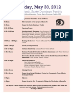 Agenda May 30