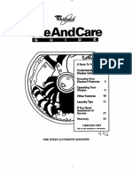 Use and Care Guide - 3357459