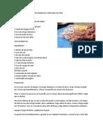 Pollo a La Parilla en Salsa Barbacoa y Ensalada de Papa