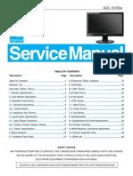 1619SW Aoc Service Manual