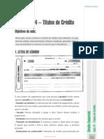 aula14 - Títulos de Crédito