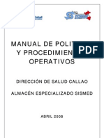 Manual de Proced. AEM DISA Callao-Abril 08