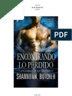 Shannon K. Butcher - Serie Las Guerras de Los Centinelas - 02 do Lo Perdido