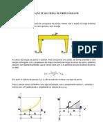 Cálculo Deformação Perna