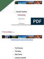Founder Institute - Fundraising-1