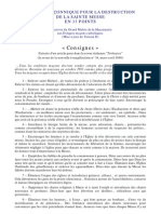 1998 03 Teologica Consignes Des Francs Macons