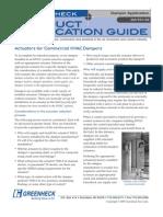 Greenheck Damper Application DA101-02