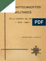 Los abastecimientos militares en la Guerra del Pacífico (1879 - 1884). (1967)