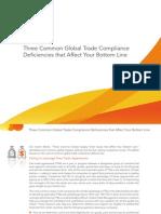 Amber Road Three Common GTM Deficiencies eBook