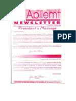 Apliemt Newsletter, Ano IV, n. 8, Cuiaba, Outubro 2003