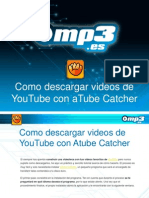 Como descargar videos de Youtube con aTube Catcher