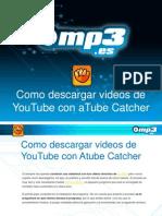 Como descargar videos de Youtube con aTube Catcher