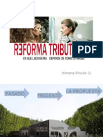 Presentacion Reforma tributaria