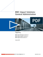 BMC Impact Solutions 7.1- General Administration
