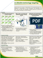 Spatial analysis for effective technology targeting