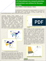Strategic assessment of international rice research priorities:projecting what IRRI and partners can achieve for the poorand the environment in Asia