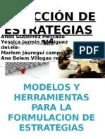SELECCION DE ESTRATEGIAS
