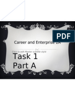 Career and Enterprise 2A