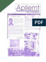 Apliemt Newsletter, Ano Viii n. 13, Cuiaba, Julho 2008