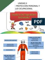 UNIDAD II EQUIPO DE PROTECCIÓN PERSONAL Y SALUD OCUPACIONAL2