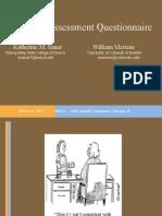2012 ABE Test Assessment