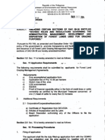 DAO 2004-35 Amending Certain Sections of DAO 99-36
