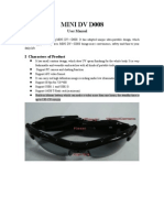 Sunglasses Camera User Manual