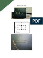Antenna Fractal Design