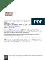Almonella Spp. Survey of Captive Rhinoceroses in u.s.