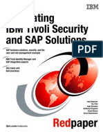 Integrating IBM Tivoli Security and SAP Solutions Redp4616