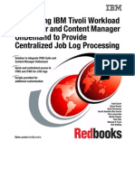 Integrating IBM Tivoli Workload Scheduler and Content Manager OnDemand to Provide Centralized Job Log Processing Sg246629