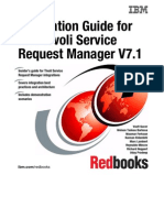 Integration Guide for IBM Tivoli Service Request Manager V7.1 Sg247580